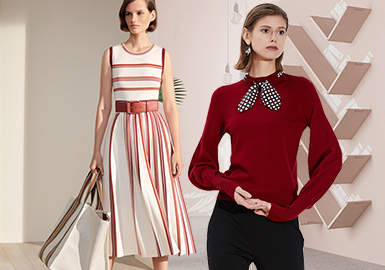 Cozy Commuting -- Resort 2020 Clothing Collocation of Women's Knitwear