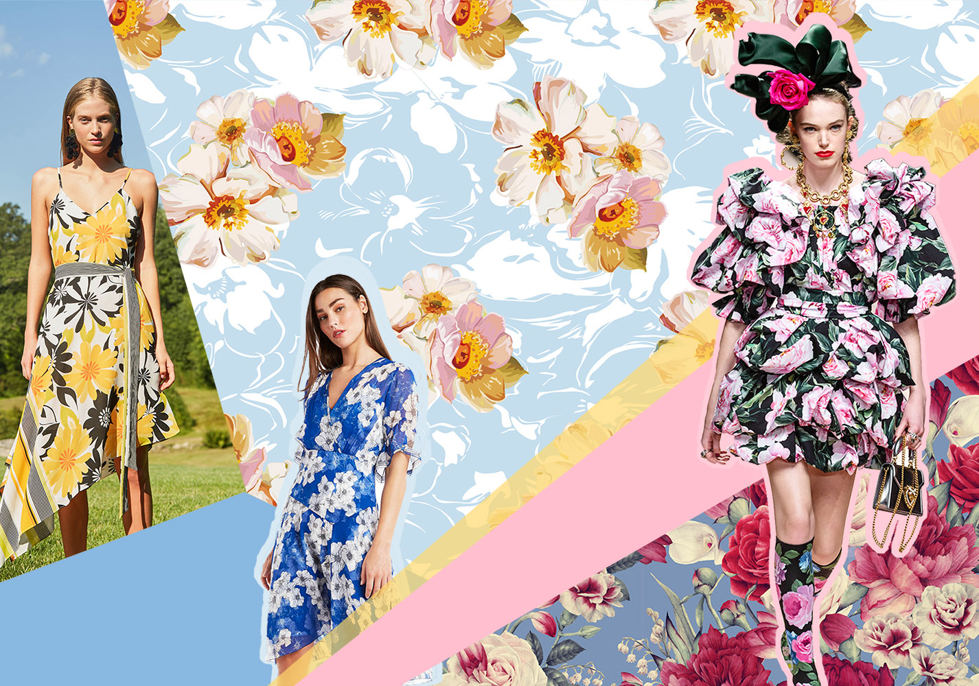 Floral World -- 2020 S/S Pattern Trend for Womenswear