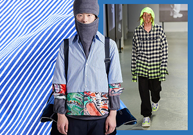 Check & Stripe -- 2020 S/S Shirting Trend for Menswear