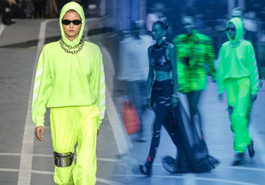 Color of Gen Z -- 2019 S/S Color of Women's Sweatshirt on Catwalk (2)