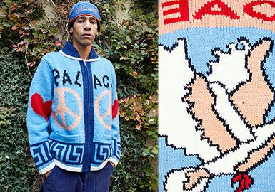 Patterns from Brands -- 19/20 A/W Pattern Trend for Men's Knitwear