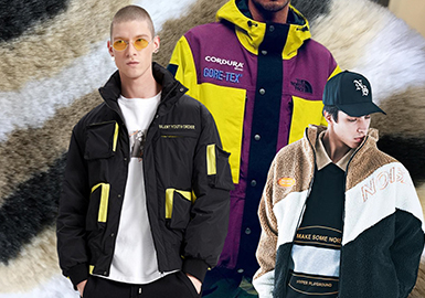 Funky Jacket -- 19/20 A/W Material Trend for Menswear