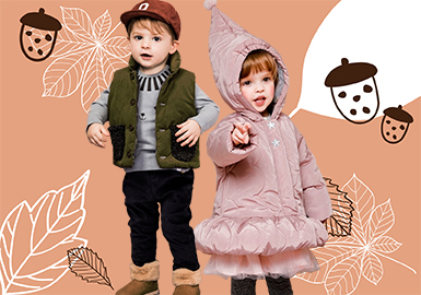 Warm & Lovely -- 19/20 A/W Clothing Collocation of Kids' Outerwear