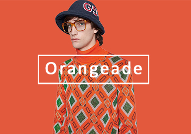 Orangeade -- 2020 S/S Color Evolution of Men's Knitwear