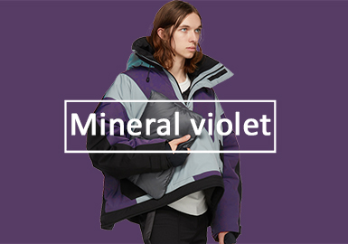 Mineral Violet -- 19/20 A/W Color Evolution of Menswear