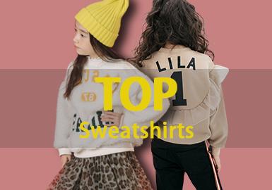 Sweatshirt -- 18/19 A/W Girls' Hot Item in Market