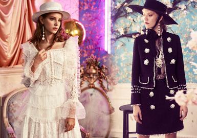 Delicate Edge -- 2020 S/S Accessory Trend for Womenswear