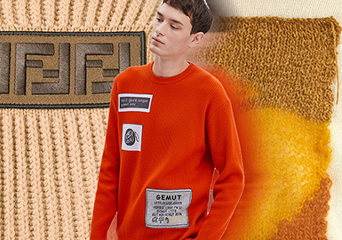 Paneling -- Resort 2020 Technique Trend for Men's Knitwear