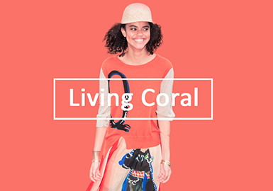 Living Coral -- 2020 S/S Color Trend for Women's Knitwear