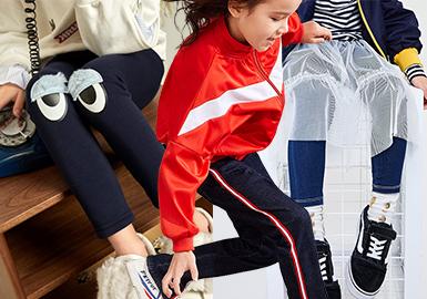Girls' Trousers -- 18/19 A/W Kidswear Benchmark Brand