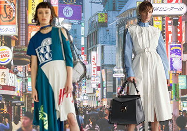 Style & Item -- 18/19 A/W Women's Skirt & Dress in Japanese Market