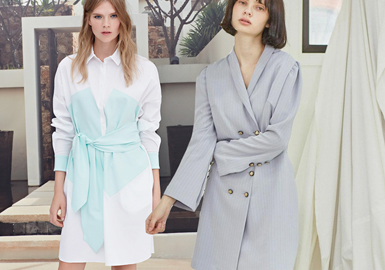 Diverse Styles -- 2020 S/S Silhouette Trend for Dress