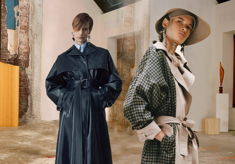 Urban Style -- 2020 S/S Silhouette Trend for Women's Trench Coat