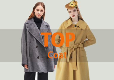 Coat -- 18/19 A/W Women's Hot Item in Market