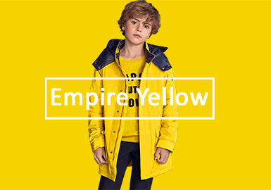 Empire Yellow -- 19/20 A/W Color Trend for Boys' Apparel