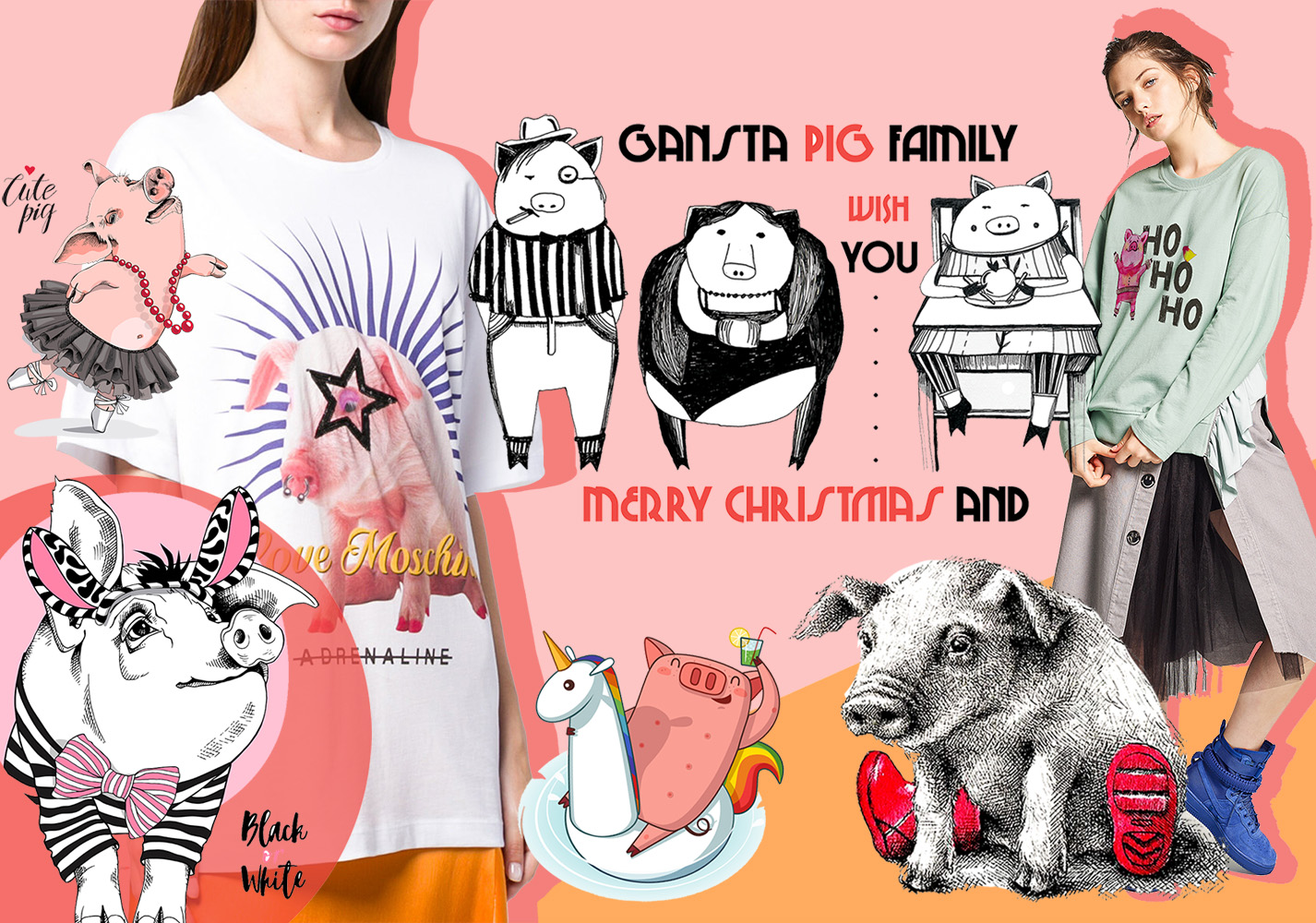 Pig -- 2020 S/S Pattern Trend for Womenswear
