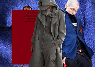 Woolen Coat -- 19/20 A/W Color of Menswear on Catwalk
