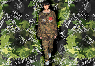 Funky Camouflage -- 2020 S/S Pattern Trend for Menswear