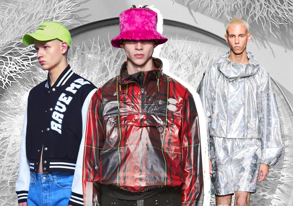Active Outdoor -- 2020 S/S Silhouette Trend for Men's Leather Apparel