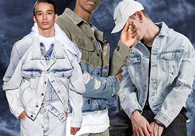 Eco-friendly Finish -- 2020 S/S Men's Denim Fabric