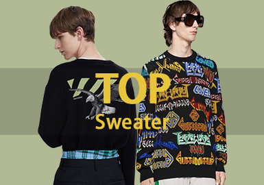 Sweater -- 18/19 A/W Men's Hot Item in Market