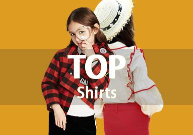 Shirt -- 18/19 A/W Girls' Hot Item In Market
