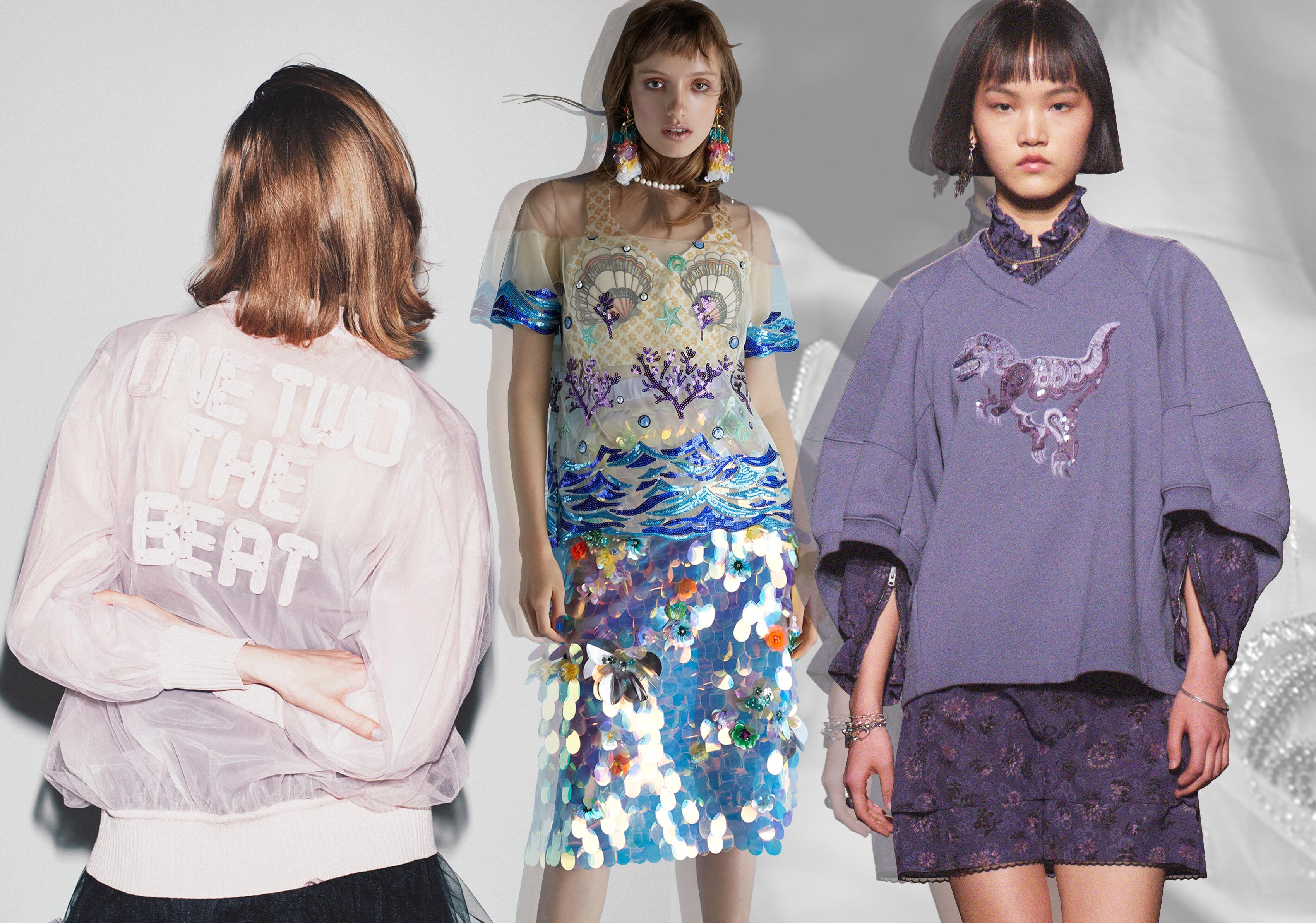 Stylish Girl -- 2020 S/S Pattern & Technique Trend for Womenswear