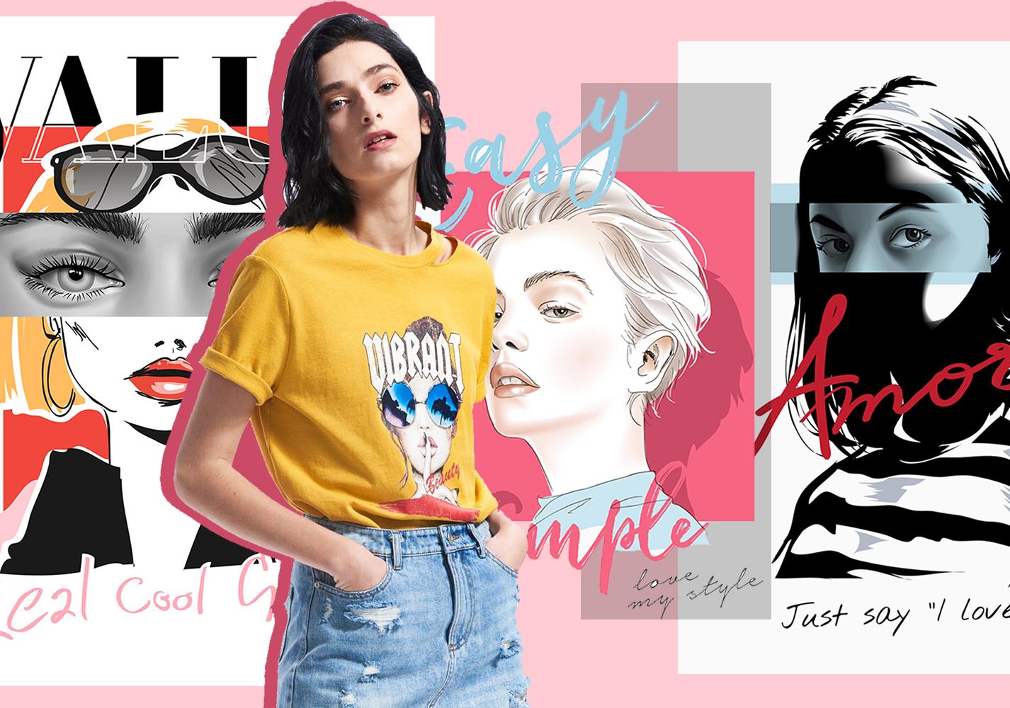 Stylish Girl -- 2020 S/S Pattern Trend for Womenswear