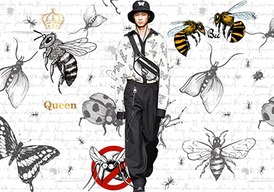 Insects -- 2020 S/S Pattern Trend for Menswear
