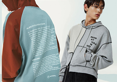 Sweatshirts of Designer Brands -- 2020 S/S Men's Styling