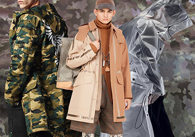Stylish Trench Coat -- 2020 S/S Material Trend for Menswear