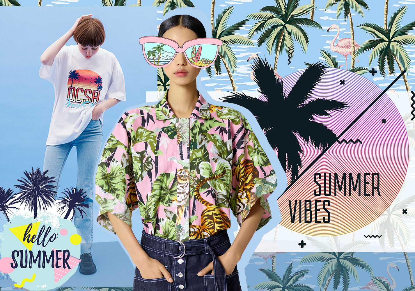 Pattern Trends 2020.Tropical Plants 2020 S S Pattern Trend For Womenswear