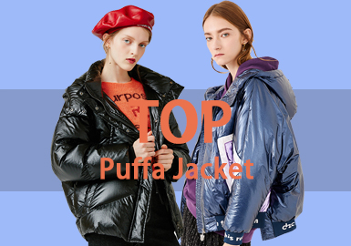 Puffer Coat -- 18/19 A/W Women's Hot Item in Market
