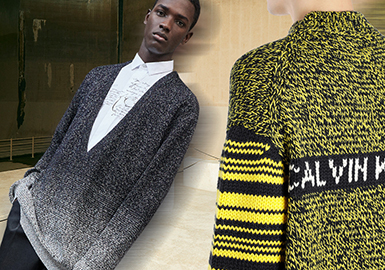 Melange Yarn -- Pre-Fall 2020 Material Trend for Men's Knitwear