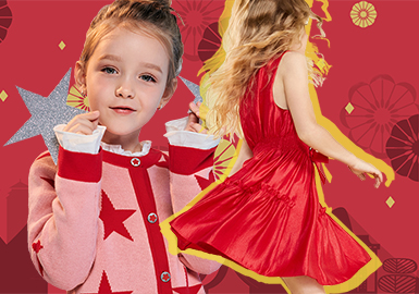 Chinese New Year -- 2019 S/S Benchmark Brand for Girls' Apparel