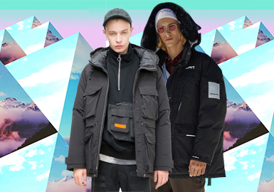 Work Puffa -- 2020 S/S Silhouette Trend for Menswear