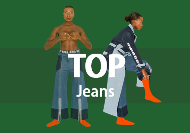 Jeans -- 2019 S/S Women's Hot Item in Market