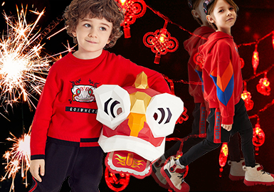 Chinese New Year -- 2019 S/S Benchmark Brand for Boys' Apparel