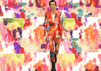 Fashion Color -- 2020 S/S Pattern Trend for Menswear