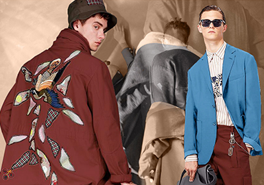Global Traveler -- 2019 S/S Color Trend Confirmation for Menswear