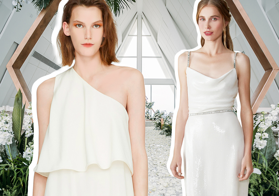 Bridesmaid Dress -- 2020 S/S Silhouette Trend for Womenswear