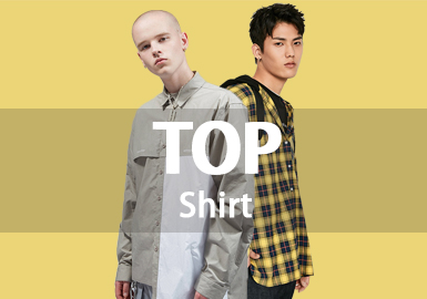 Shirt -- 18/19 A/W Men's Hot Item in Market