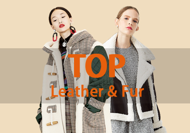 Leather & Fur Apparel -- 18/19 A/W Women's Hot Item in Market