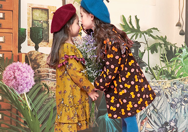 Secret Garden -- 19/20 A/W Trend Forecast for Girls' Apparel