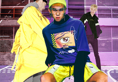 Generation Y -- 2019 S/S Color Trend Confirmation for Menswear