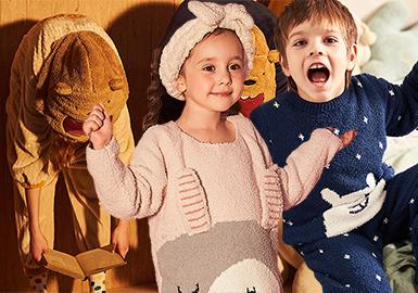 Warm Loungewear -- 19/20 A/W Silhouette Trend for Kidswear