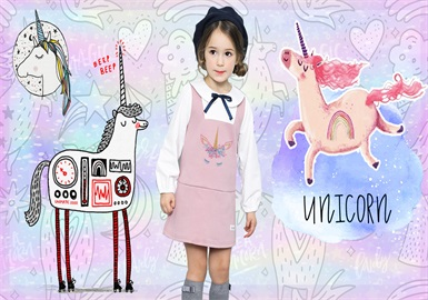 Unicorn -- 2020 S/S Pattern Trend for Kidswear