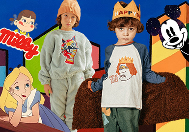 Cartoon Pattern -- 18/19 A/W Pattern Analysis of Kidswear in Korean Market