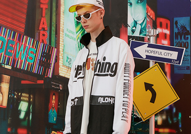 Playful Word -- 2020 S/S Pattern & Technique Trend for Menswear