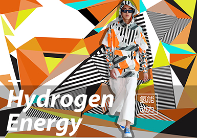 Hydrogen Energy -- 2020 S/S Pattern Trend for Menswear